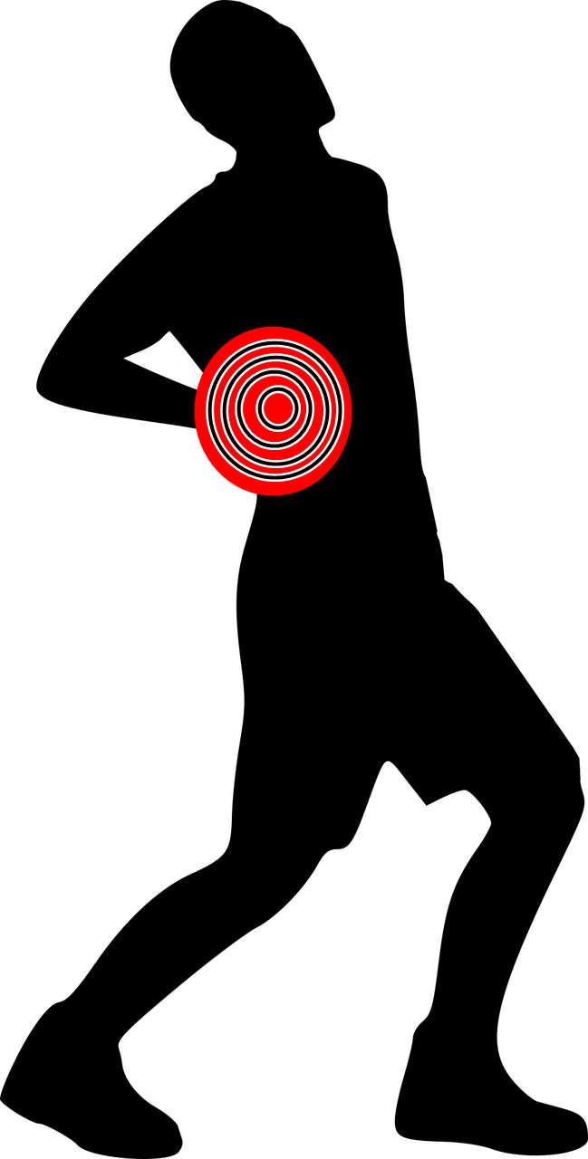 Schmerzen im Lenden oder Rückenbereich