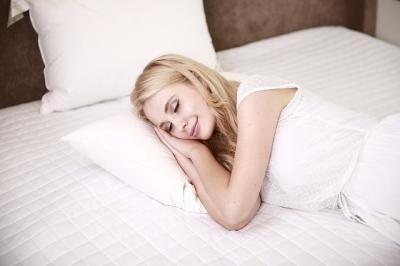 Den Tag positiv ausklingen lassen, Foto schlaf, Dorn Therapie 400 x266